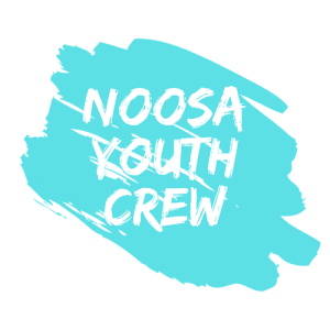 Noosa Youth Crew Transparent White Large