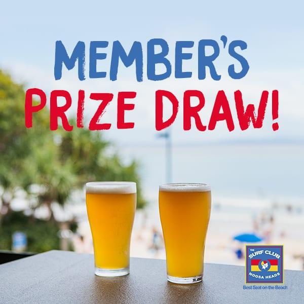 Member Prize Draw Square